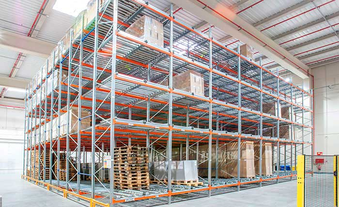 live pallet racking fifo