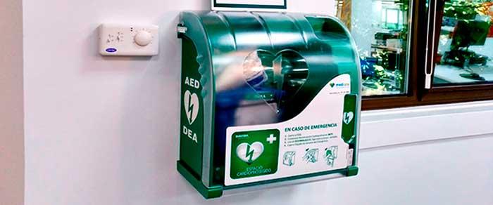 defibrillateurs securite entrepot