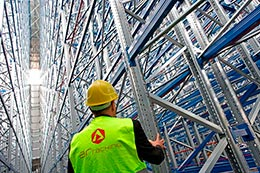 Maintenance and replacement of industrial racking components