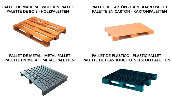 types-palettes-materiau