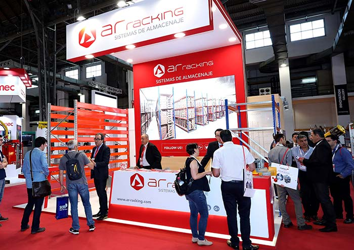 AR Racking presente en Expologística Colombia en el stand 310