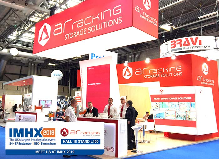 AR Racking at IMHX 2019, get your free badge and visit us!