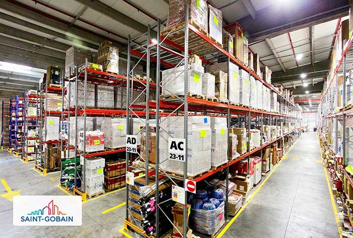 AR Racking instala el almacén de La Plataforma de la Construcción del Grupo Saint Gobain en Madrid