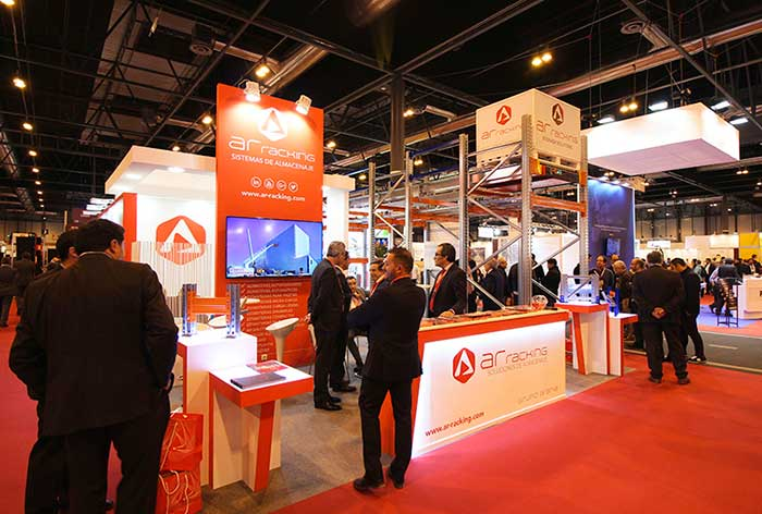 AR Racking participe au salon Logistics & Distribution 2018 à Madrid