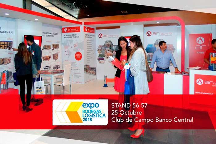 ¡Nos vemos en Expo Bodegas & Logística Chile 2018!