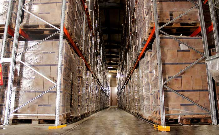AR Racking baut neues Lager für Agility Global Integrated Logistics in Algerien