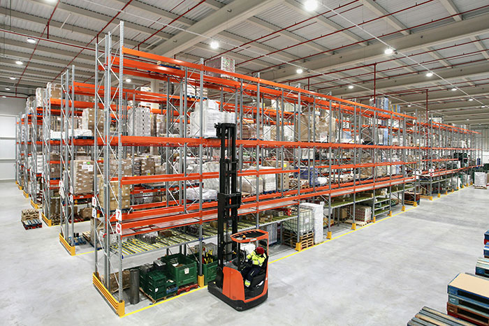 We fit Pallet Racking for Eroski's new Distribution Centre (Video)