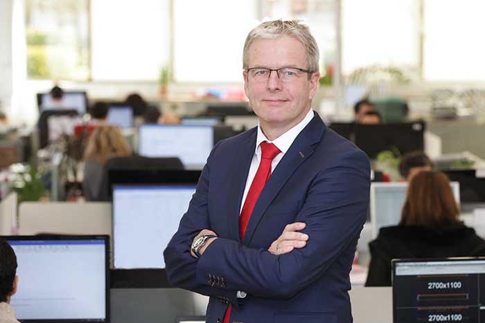 Bart Pulles, nouveau responsable grands comptes d'AR Racking pour l'Allemagne