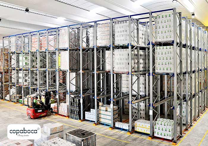 Bodegas Copaboca s'appuie sur AR Racking pour le stockage de ses bouteilles de vin à Tordesillas, Espagne