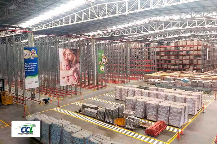 17,300 new storage positions for a multinational wellness company's warehouse