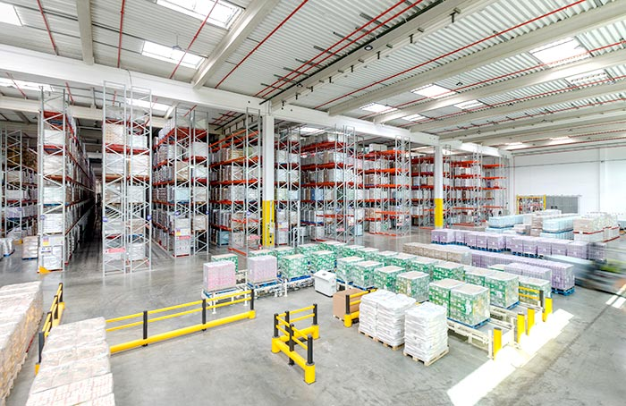 AR Racking equips the Dossin Entrepôts new logistics centre