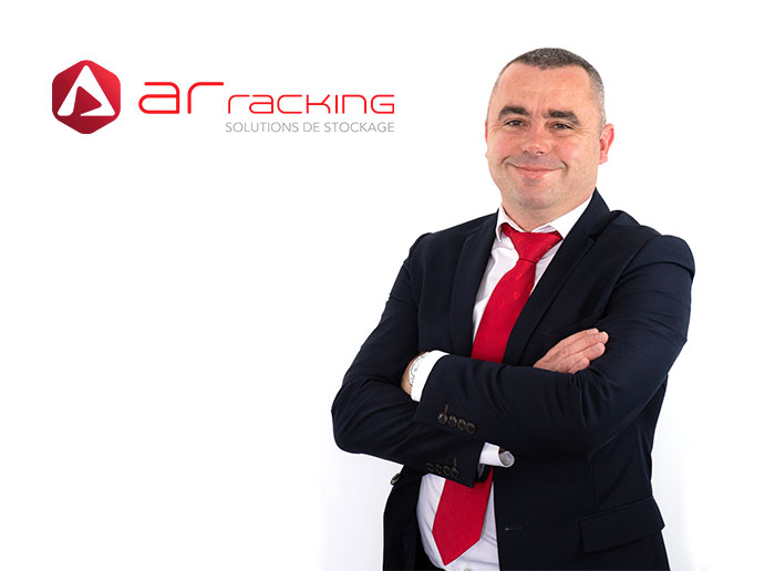 Eric Bazeck, new Key Account Sales Manager at AR Racking France