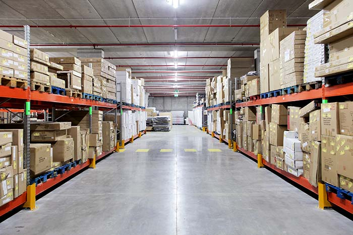 Conforama relies on AR Racking to equip its new 3,500 m2 warehouse
