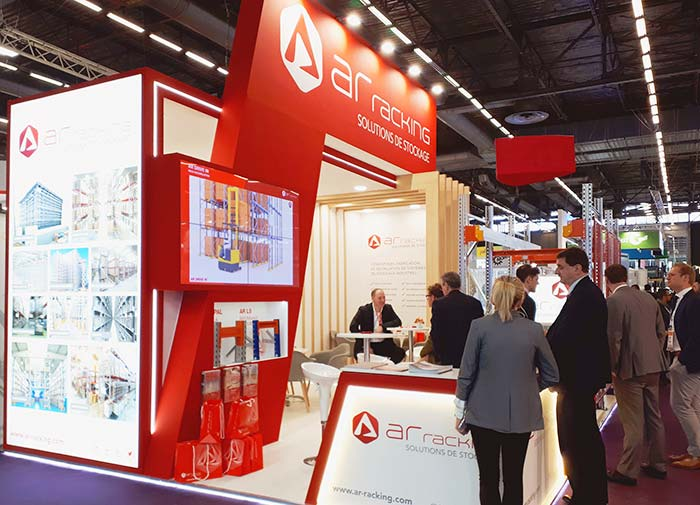 AR Racking at Europack Euromanut in Lyon (France)