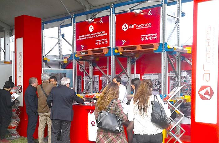 AR Racking ocupará el stand 22-23 en Expo Bodegas & Logística en Chile