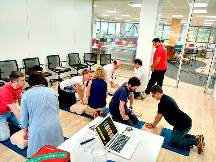 We have installed defibrillators in our head office and production center!