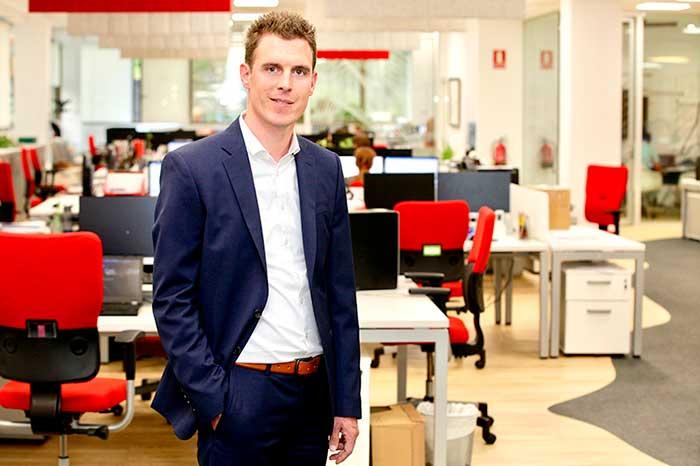 Fabian Pape se incorpora en AR Racking en la delegación de Alemania como Sales Director Integration business para la región DACH