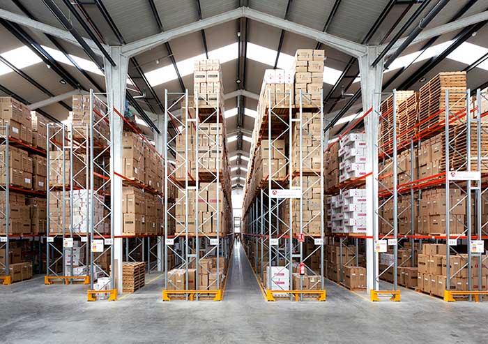 AR Racking installe entrepôt au nouveau centre logistique de GABOL à Valence (Espagne)