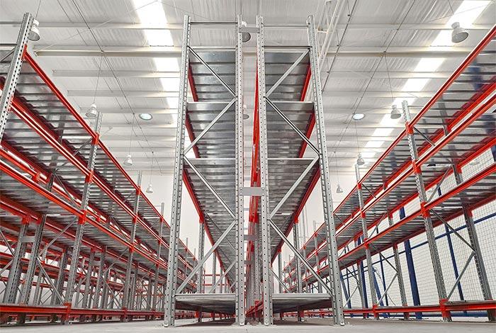 Warehouse with picking solutions for the Consorcio Mantenimiento de Gasoductos del Perú (MGP)