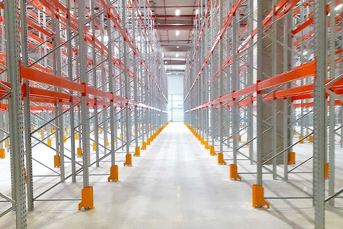 Interbrands Romania a fait confiance à AMCO et à AR Racking pour son nouvel entrepôt