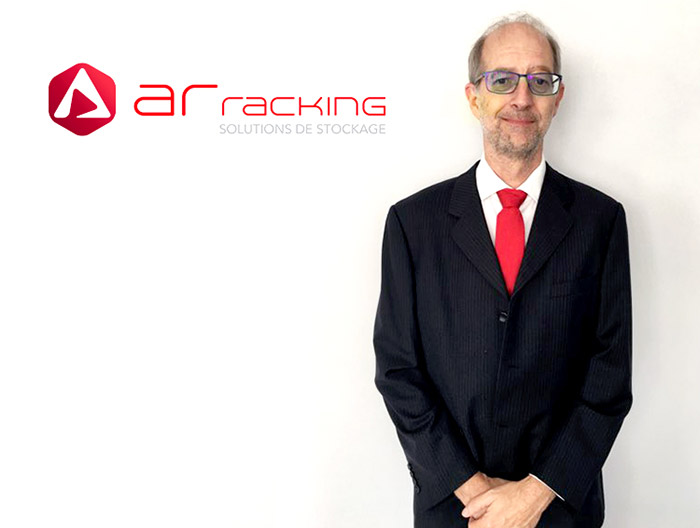 Joël Barbotin joins the AR Racking's delegation in France as Key Account Manager