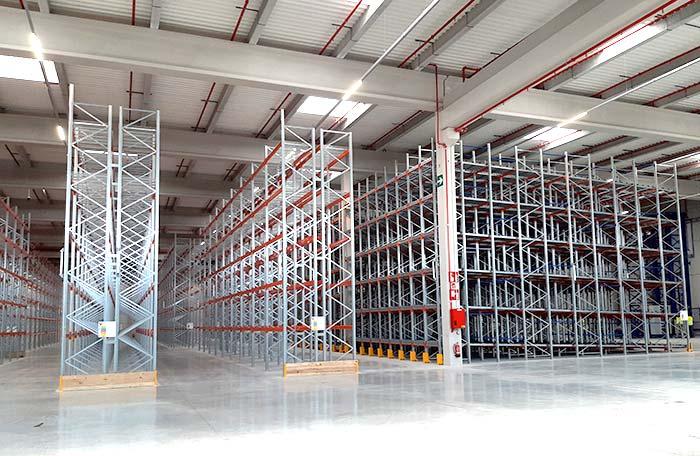 Neue Installation auf 17.000 m² für die innovative Logistik-Plattform von Jaylo