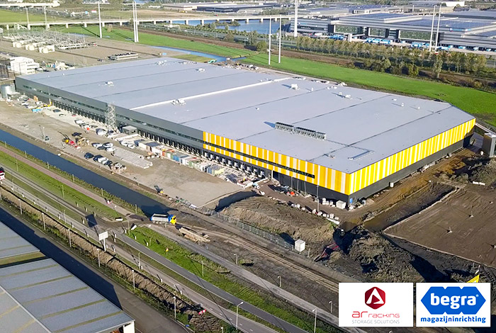 AR Racking and Begra fit out the new E-Fulfillment Centre for Jumbo (Video)