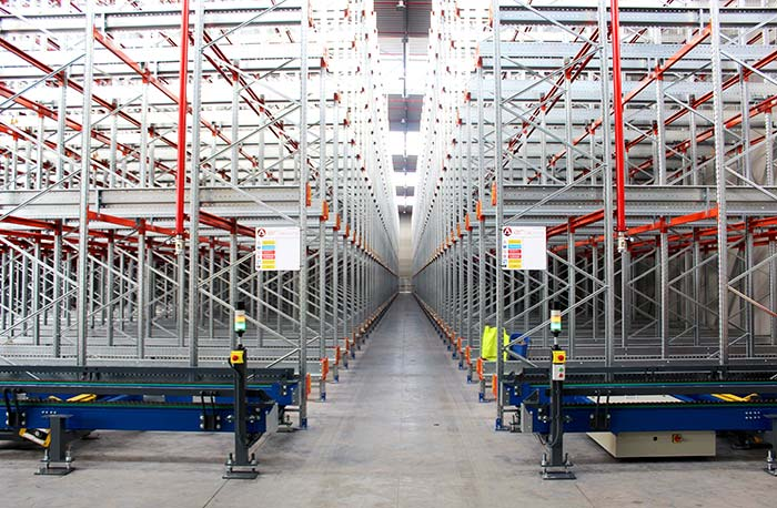 13,000 new storage positions for the Marcos Larrañaga & Co. Group's warehouse (LACOR, IBILI) thanks to AR Shuttle solution
