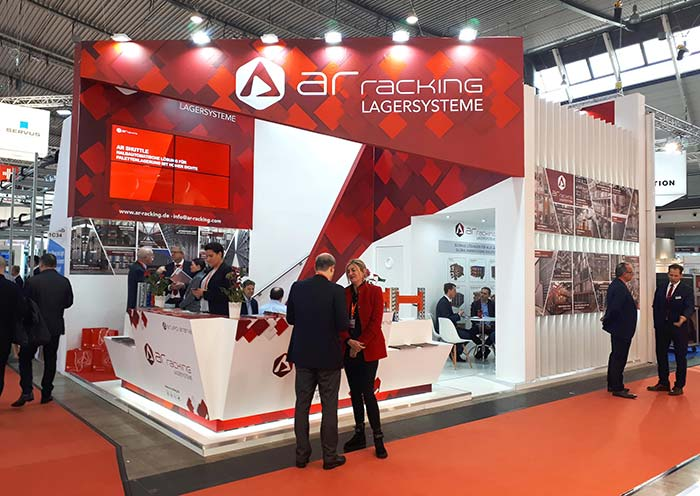 AR Racking, leader in large storage projects, to exhibit at LogiMAT 2020