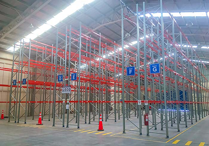 New warehouse for Nexus Logistics with Adjustable pallet racking system