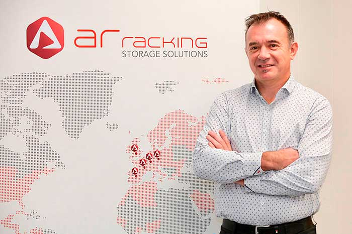 AR Racking's technical director Pablo Montes appointed as chairman of the