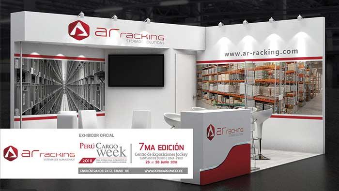 AR Racking, presente en Perú Cargo Week, el evento más importante del sector de Transporte de Carga, Logística y Comercio Exterior de Perú
