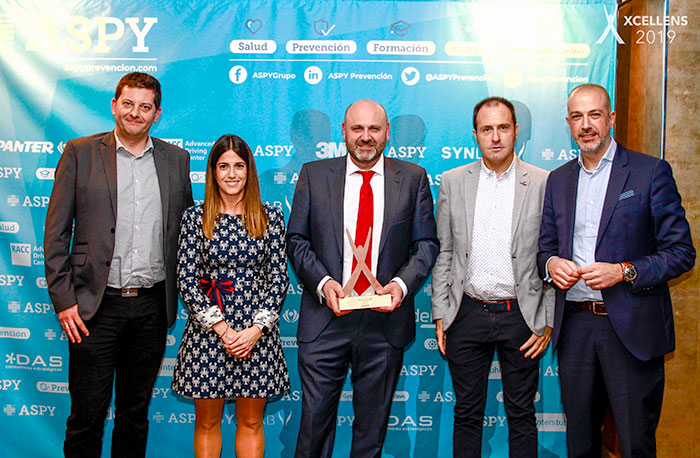 ASPY rewards AR Racking for encouraging healthy habits among its workers