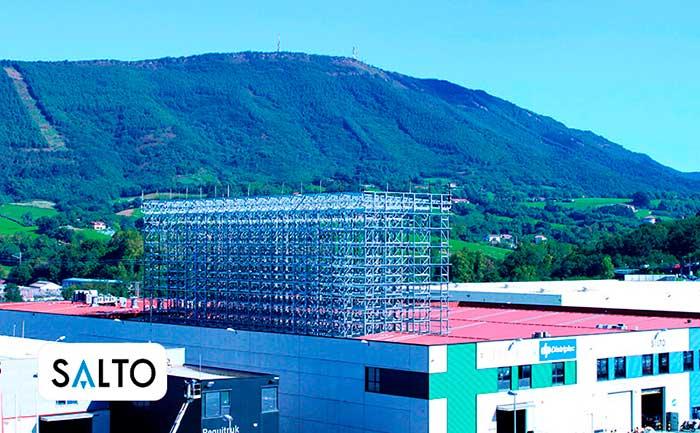 SALTO Systems confía en AR Racking para la ampliación de su almacén en Oiartzun  [VIDEO]