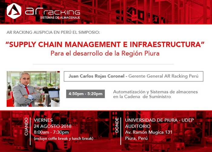 "AR Racking auspicia en Perú el simposio: ""Supply Chain Management e Infraestructura"""
