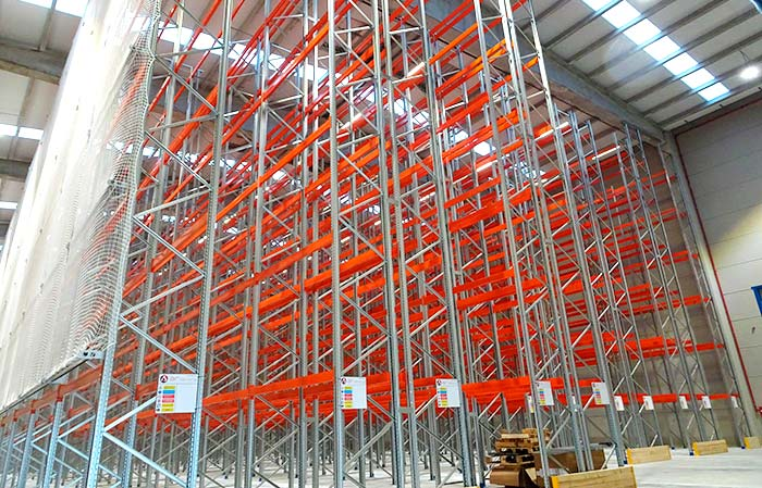 Transnatur relies on AR Racking to equip its warehouse with 7,000 storage positions and 400 picking levels