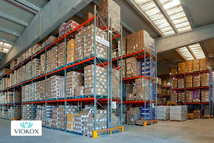 AR Racking installs new warehouse for the cosmetic company VIOKOX in Valencia (Spain)