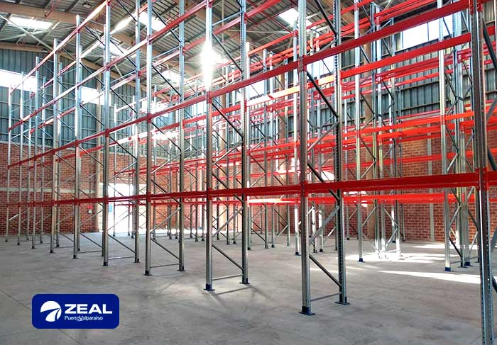 ZEAL expands its out-of-port warehouse with AR Racking's pallet racking system