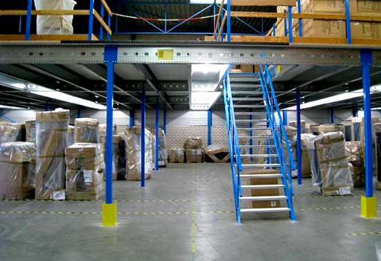 Mezzanines stockage