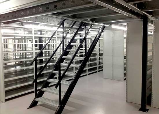 entreplanta estanteria