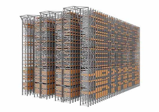 Sistema almacenamiento miniload