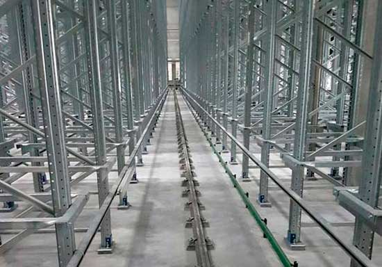 Automated pallet warehouses