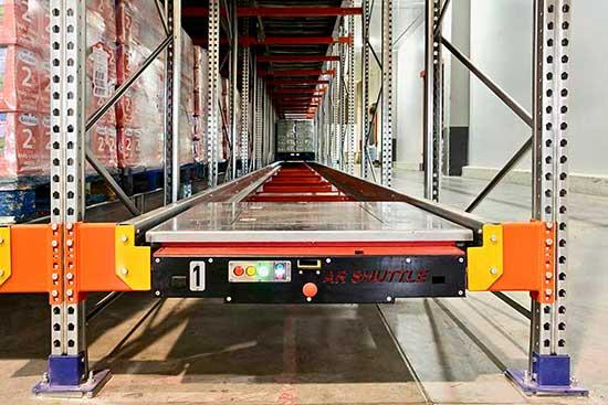 pallet shuttle storage