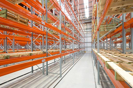 Narrow-Aisle-Pallet-Rack