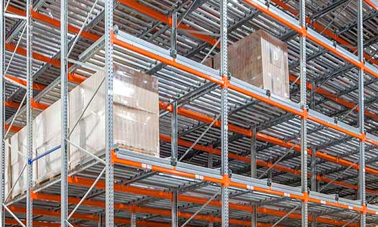 Flow Rack pallets
